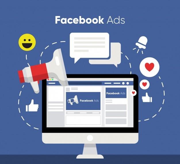 flat facebook ads